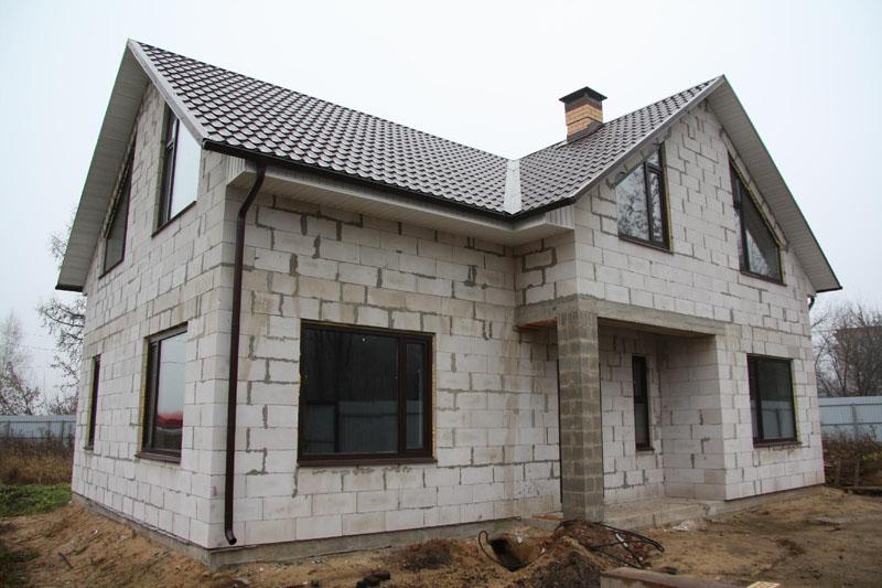 Проектирование частных домов из блоков в Тюмени